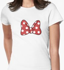 Minnie Mouze Womens Fitted T-Shirt
