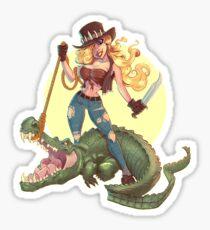 CrocGirl Sticker