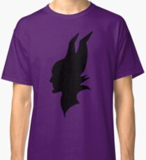 Maleficent : Black Silhouette Classic T-Shirt