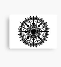 Mandala Design Canvas Print
