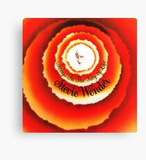 Songs In The Key Of Life - Stevie Wonder Album Cover Canvas Print