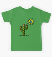 Cactus and sun, California, Mexico, Australia, Desert, Cacti Kids Clothes