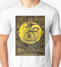 BICYCLE and TRICYCLE: Vintage (1881) Advertising Print Unisex T-Shirt
