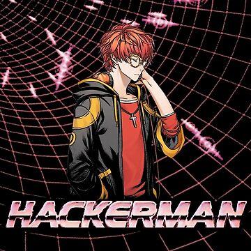 [#MysticMessenger] (MysMes) HACKERMAN - 707/Seven/Luciel by wayfinder