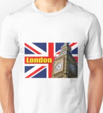 BIG BEN AND THE UNION JACK LONDON T-Shirt