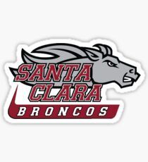 Santa Clara Broncos Sticker
