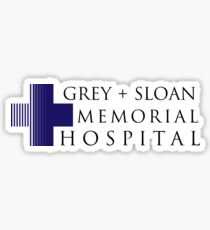 Grey + Sloan Memorial Hospital Sticker