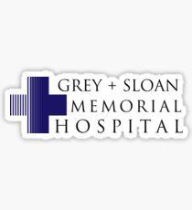 Grey + Sloan Memorial Hospital Sticker