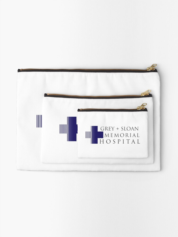 Alternate view of Grey + Sloan Memorial Hospital Zipper Pouch