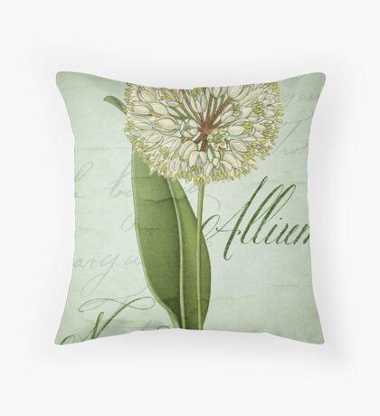 Allium II Throw Pillow