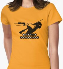 Fast Fourcade  Women's Fitted T-Shirt