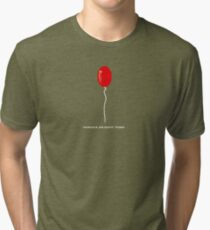 IT Pennywise Balloon Tri-blend T-Shirt