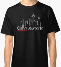 Frasier x Grey's – Seattle TV Mashup Classic T-Shirt