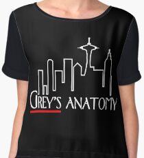 Frasier x Grey's – Seattle TV Mashup Chiffon Top