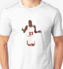 Michael Jordan Shrug Design Unisex T-Shirt