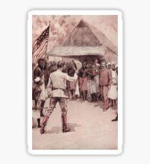 Meeting of Stanley & Dr Livingstone 1871 Sticker