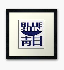 Serenity - Firefly - Blue Sun Corparation Logo Framed Print