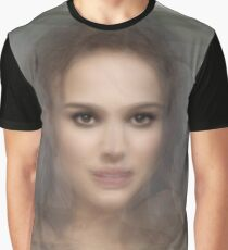 Natalie Portman Portrait Graphic T-Shirt