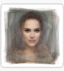 Natalie Portman Portrait Sticker