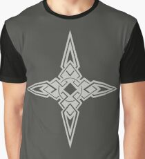 Dawnstar Emblem (Light grey over dark grey) Graphic T-Shirt