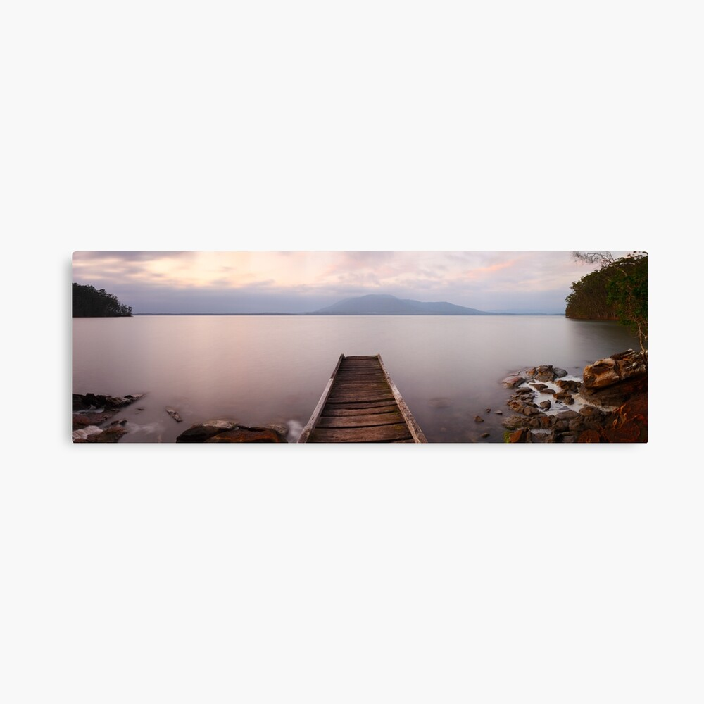 Queens Lake, Port Macquarie, New South Wales, Australia Canvas Print