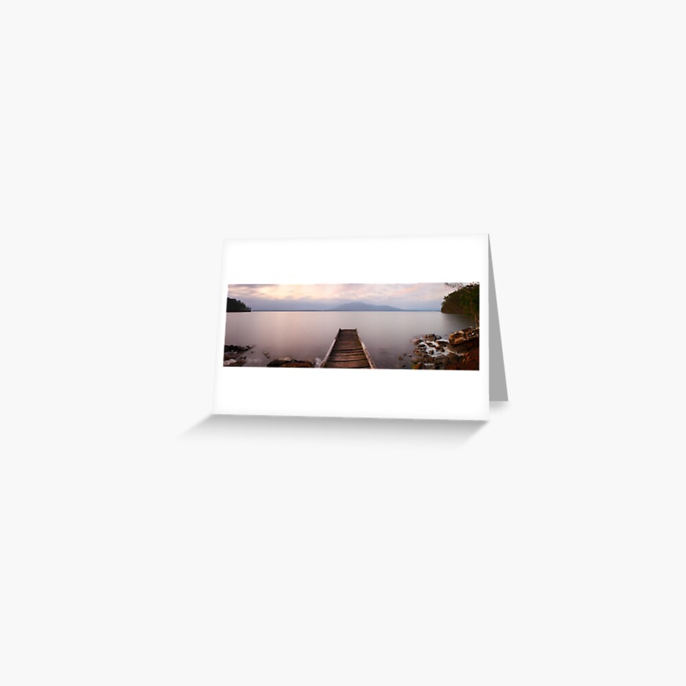 Queens Lake, Port Macquarie, New South Wales, Australia Greeting Card