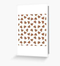 poo pattern Greeting Card