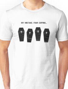 Four Coffins T-Shirt