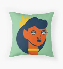 Belinda Bloodflower Throw Pillow