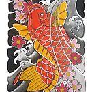 Koi x Sakura by Chris Beaumont