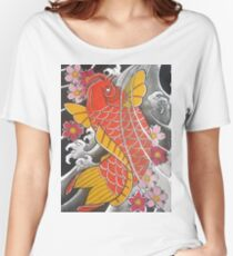 Koi x Sakura Women's Relaxed Fit T-Shirt