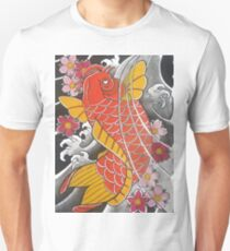 Koi x Sakura Unisex T-Shirt