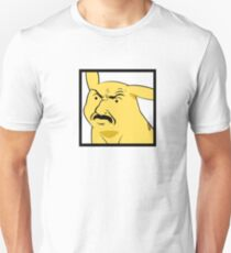 Yellow mouse with moustache T-Shirt