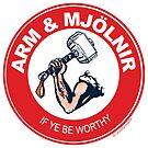 Arm & Mjolnir by Zack Morrissette