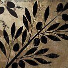 Bellisima Black Olives on Gold by mindydidit
