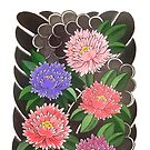 Peony pattern by Chris Beaumont