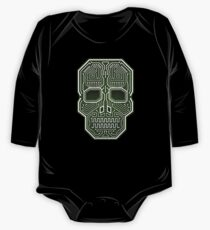 Skull Hacker Isolated Version One Piece - Long Sleeve