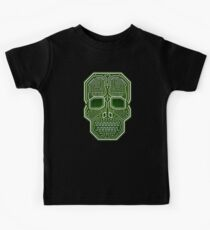 Skull Hacker Isolated Version Kids Clothes