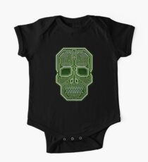 Skull Hacker Isolated Version One Piece - Short Sleeve
