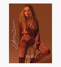 PRETTY SABRINA CARPENTER EVOLUTION  Photographic Print