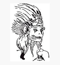 Aztec Photographic Print