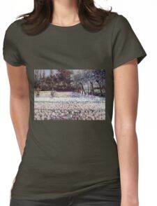 George Hitchcock - Early Spring In Holland Womens Fitted T-Shirt