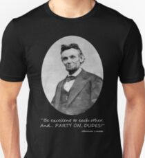Party On, Abe! T-Shirt