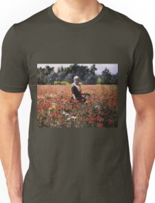 George Hitchcock - The Poppy Field Unisex T-Shirt