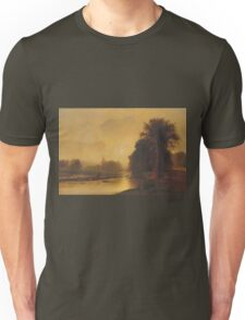 George Inness - Autumn Meadows Unisex T-Shirt