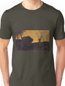George Inness - Evening At Medfield, Massachusetts Unisex T-Shirt