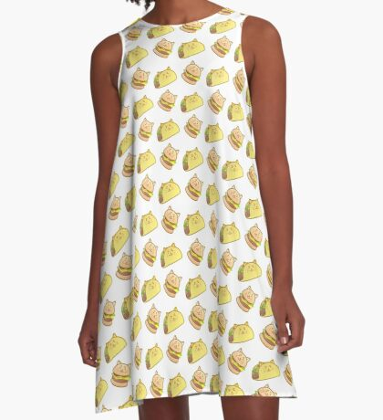 Cat Food A-Line Dress