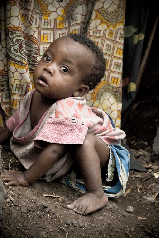 Orphan, Refugee camp-Goma by Bryn