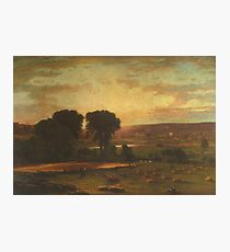 George Inness - Peace And Plenty Photographic Print