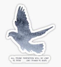 Blade Runner Quote Sticker